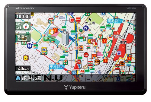 ユピテル 5.0型ポータブルナビゲーション YPL520