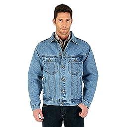 Wrangler Denim Jacket, VINTAGE INDIGO, 6XL
