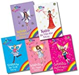 img - for Rainbow Magic Fourth Specials Collection - 5 Books RRP  29.95 (Selena the Sleepover Fairy; Keira the Film Star Fairy; Tamara the Tooth Fairy; Angelica the Angel Fairy; Jennifer the Babysitter Fairy) book / textbook / text book
