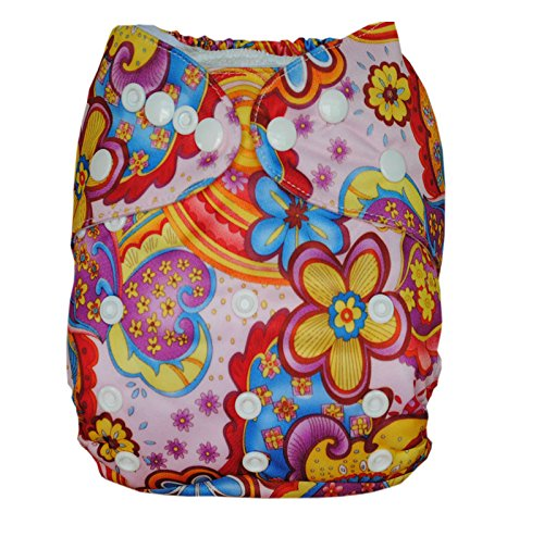 Besto Baby One Size Fit All Pocket Cloth Diaper Cover Reusable Washable Fit 6-33 Lbs 0N30 front-787734