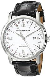 Baume & Mercier Men's MOA08462 Classima Executive Analog Display Swiss Automatic Black Watch
