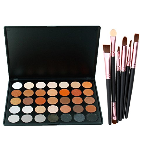 lover bar 35 farbe lidschatten palette 6pcs make up pinsel set professionell sch nheits kosmetik. Black Bedroom Furniture Sets. Home Design Ideas
