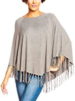 SO Cachemire & Knitwear Poncho Paola (Gris)