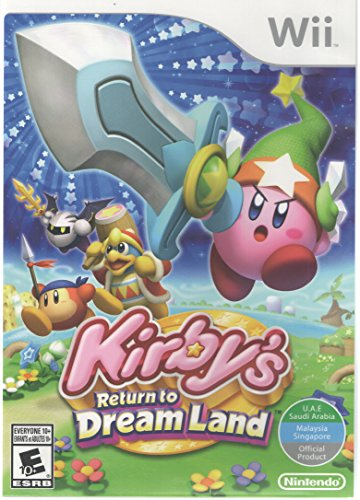 Kirby's Return to Dreamland - World Edition (Nintendo Wii) (Kirby Dream Wii compare prices)