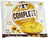 Lenny & Larrys The Complete Cookie, Peanut Butter, 4-Ounce Cookies (Pack of 12)