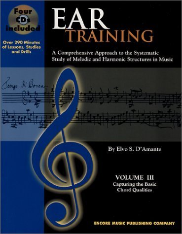 ear-training-volume-iii-capturing-the-basic-chord-qualities-with-cd-by-elvo-s-damante-2002-09-01