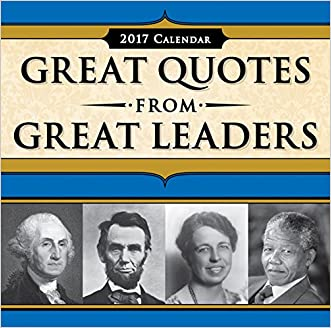 2017 Great Quotes from Great Leaders Boxed Calendar