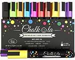 Premium Chalk Pens - Set of 10 neon c...