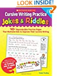 Cursive Writing Practice: Jokes & Rid...