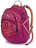 High Sierra Fat Boy Backpack,Crochet Boysenberry Coral
