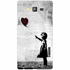Printland Back Cover For Samsung Galaxy On7 - Grey Designer Cases