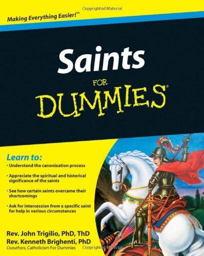 Saints For Dummies front-984872