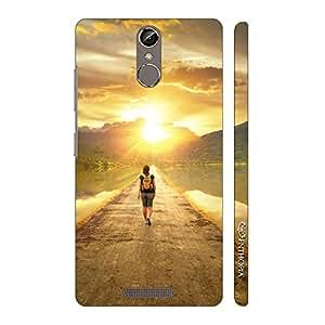 Enthopia Designer Hardshell Case Traveller Back Cover for Gionee Elife S6S