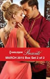 Harlequin Presents March 2015 - Box Set 2 of 2: Prince Nadirs Secret Heir\The Taming of Xander Sterne\The Sheikhs Sinful Seduction\In the Brazilians Debt