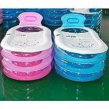 Webetop Bassin-Baignoire SPA durable pour adulte, pliable et gonflable, avec pompe à air