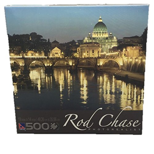 Rod Chase Photorealist San Pietro Italy 500 Piece Jigsaw Puzzle