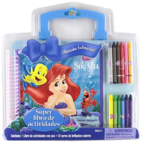 La Sirenita. Superlibro de actividades (Disney. Princesas)