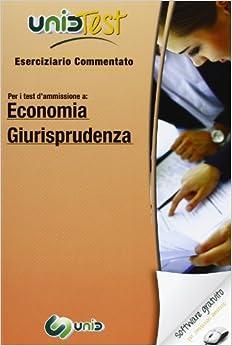 UnidTest 8. Eserciziario commentato per economia giurisprudenza