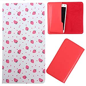 DooDa - For XOLO A1010 PU Leather Designer Fashionable Fancy Case Cover Pouch With Smooth Inner Velvet