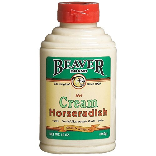 Beaver Brand Cream Style Horseradish, 12-Ounce Squeezable Bottles (Pack of 2)