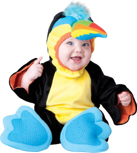 Incharacter Costumes, Llc Tiny Toucan, Black/Yellow, Small front-957126