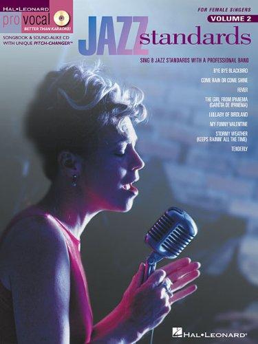 Jazz Standards: Pro Vocal Women's Edition Volume 2