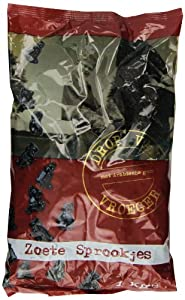 Kraepelien & Holm Sweet Licorice with Gum Arabic, 2.2-Pound Bags (Pack of 3)