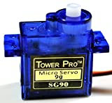 【Tower Pro】マイクロサーボ SG90(5個セット)