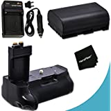 High Performance Battery Grip For Canon EOS 6D DSLR Camera Plus 1 High Capacity Replacement Canon LP-E6 Battery...