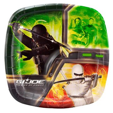 GI Joe Dessert Plates 8ct - 1