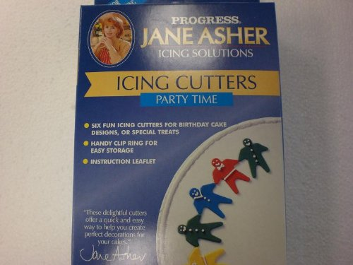 Jane Asher Icing Cutters Party Time