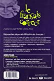 Image de Le français correct : Guide pratique des difficultés