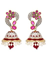 Akshim Multicolour Alloy Earrings For Women - B00NPYC4VG