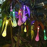Innoo Tech 3.3M Guirlande Solaire d'extérieur, 20 LEDs en Forme de Goutte d'eau, Décoration pour Jardin Noël Mariage Partie Halloween(Multicolore)...
