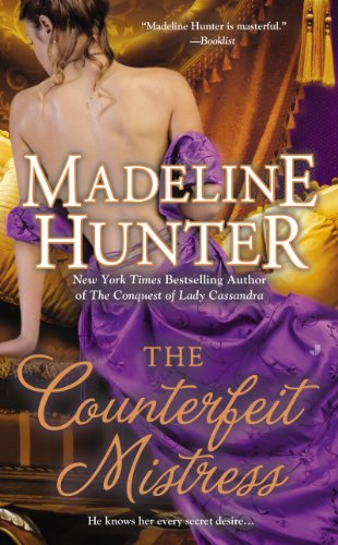 The Counterfeit Mistress (Fairbourne Quartet) by Madeline Hunter