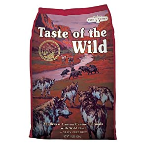 Taste of The Wild Dog Food Southwest Canyon with Wild Dog Food Boar 6.36kg by Taste Of The Wild