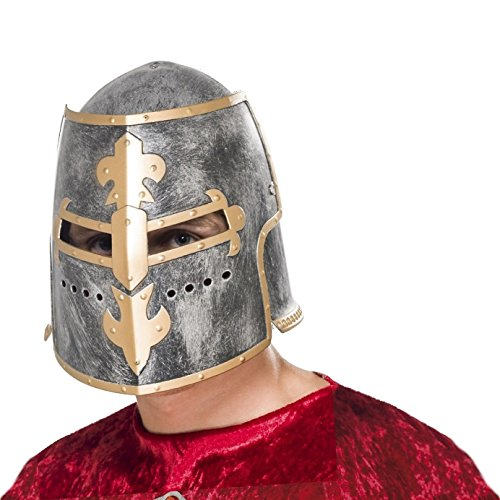 Medieval Crusader Helmet Adult Costume Accessory