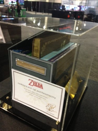 Libro legend of zelda box set di prima games for Bureau zelda
