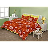 "Birla Century Bedsheet FLORICA Polyester Cotton Blend Double Bed Sheet Size: 88"" X 96"" With Two Pillow Cover Size... - B00MY1I3RA"