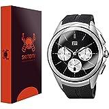 LG Watch Urbane 2nd Edition LTE Screen Protector (6-Pack,Full Coverage), Skinomi® TechSkin - Premium HD Clear...