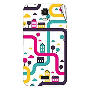 Garmor Designer Mobile Skin Sticker For Huawei Y516 - Mobile Sticker