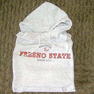 Fresno State Bulldogs Hooded Sweatshirt, Heather by SportShack INC