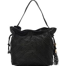 Vince Camuto Nella Hobo Shoulder Bag, Black2, One Size