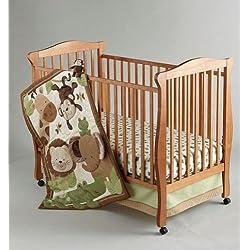 4-piece Safari Baby Crib Bedding Set By Nojo