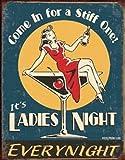 Tin Sign Moore - Ladies Night - 12.5