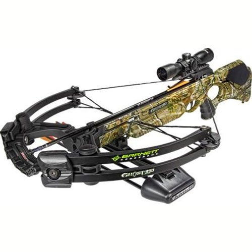 Barnett Ghost 350 CRT Crossbow Package (Quiver,