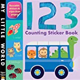 123 Counting Sticker Book (My Little World)