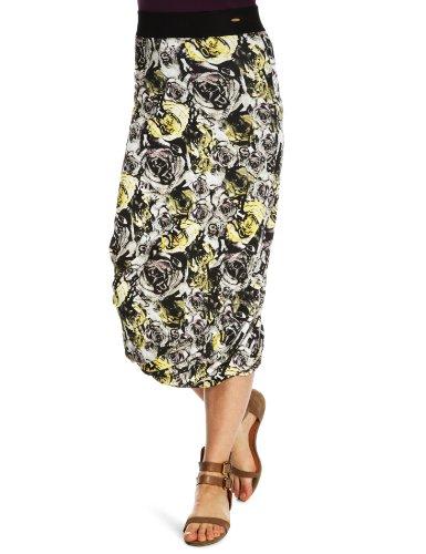 Ringspun Backflash Midi Skirt