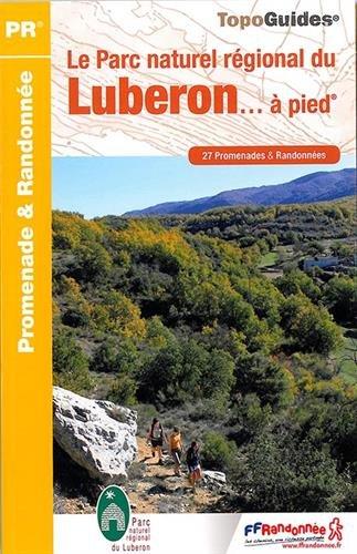 Carte des communes du parc naturel regional du luberon