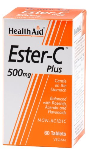 HealthAid Ester C 500mg Plus - 60 Tablets